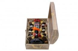 Zestaw świąteczny nr 71 Średni kufer z winem Porto