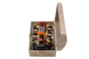 Zestaw świateczny nr 5 Średni kufer z winem Porto