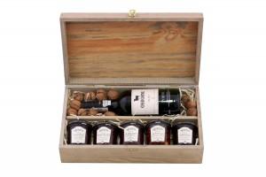 Zestaw świąteczny nr 10 Skrzynka z winem Porto