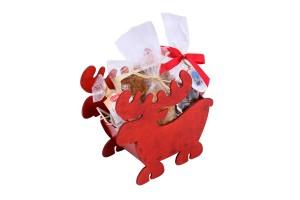 Zestaw świąteczny nr 13 Koszyczek renifer
