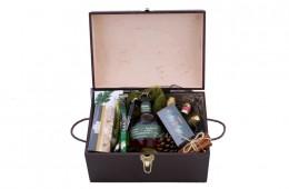 Zestaw świąteczny nr 44 Średni kufer z Bourbonem