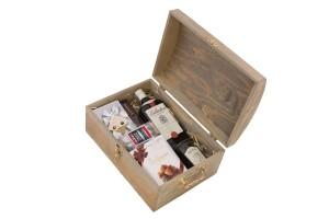 Zestaw świąteczny nr 2 Średni kufer z Whisky