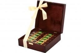 Zestaw świąteczny nr 34A Skrzyneczka z czekoladkami