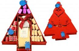 Zestaw świąteczny nr 40A Skrzynka Mikołaj