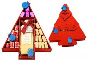 Zestaw świąteczny nr 34 Skrzynka Mikołaj