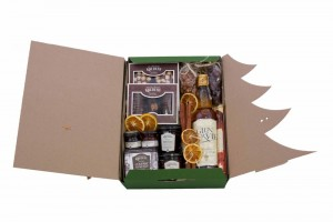 Zestaw świąteczny nr 38 Pudełko z Whisky