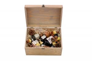Zestaw świąteczny nr 8 Średni kufer z winem Porto