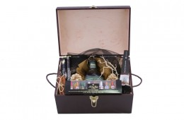 Zestaw świąteczny nr 93 Średni kufer z Bourbonem