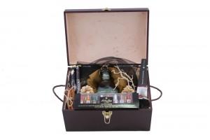 Zestaw świąteczny nr 29 Średni kufer z Bourbonem