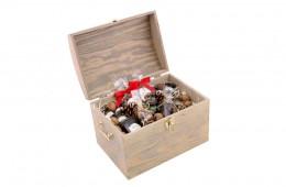 Zestaw świąteczny nr 67 Duży kufer z Bourbonem