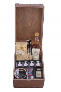 Zestaw świąteczny nr 34 Duża skrzynia z Whisky