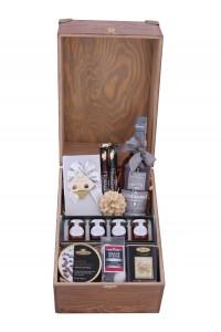 Zestaw świąteczny nr 33 Duża skrzynia z Whisky