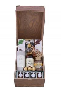 Zestaw świąteczny nr 10 Duża skrzynia z whisky