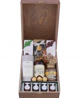 Zestaw świąteczny nr 100 Duża skrzynia z Whisky