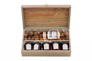 Zestaw świąteczny nr 15 Skrzynia starzona z whisky