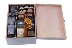 Zestaw świąteczny nr 25Średnia starzona skrzynia z Whisky
