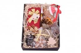 Zestaw świąteczny nr 5 Pudełko z ozdobną obwolutą