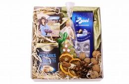 Zestaw świąteczny nr 3 Perłowe pudełko z czekoladkami