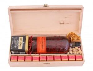 Zestaw świąteczny nr 51 Skrzynka z Bourbonem