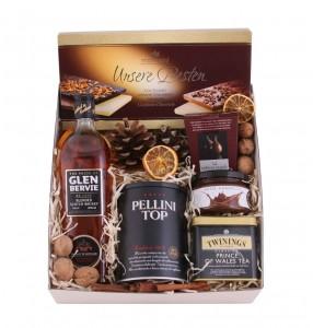 Zestaw świąteczny nr 38 Pudełko z aplikacją z Whisky