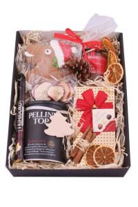 Zestw świąteczny nr 50 Pudełko z ozdobną obwolutą